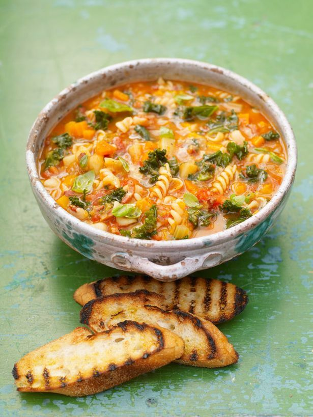 Jamie Oliver - Campaign for real food, Minestrone soup