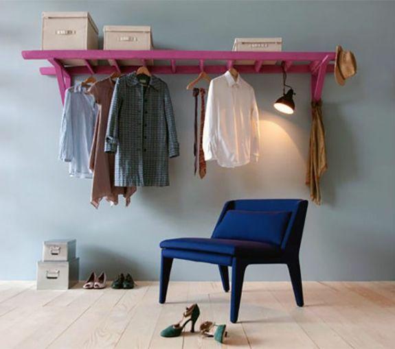 Die 25+ Besten Ideen Zu Leiterregal Auf Pinterest | Leiterregale ... Blumenstander Selber Bauen Alte Holzleiter