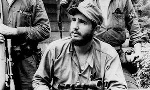 """""""FIDEL CASTRO OBITUARY: revolutionary icon FINALLY DEFEATED BY infirmity of OLD AGE"""" : The Guardian"""