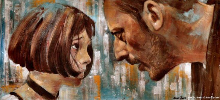 Leon The Professional / Jean Reno, Natalie Portman (Gary Oldman)1994