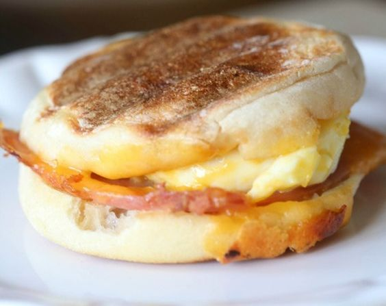 Homemade Egg McMuffin - Save 60 calories and 237 milligrams of sodium when you spend 10 minutes in your kitchen making this sandwich instead of 10 minutes in the drive-through line. Plus, this recipe got 8 grams of belly-slimming fiber, keeping you fuller longer.