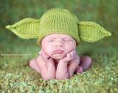 Cute!: Babies, Yoda Hats, Baby Yoda, Green Yoda, Stars War, Baby Things, Baby Hats, Yoda Baby, Kid