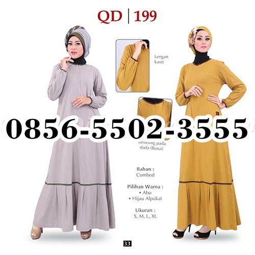 Gamis Qirani model 120, HP.0856-5502-3555,