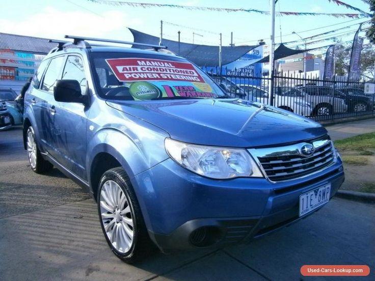 2008 Subaru Forester MY08 X Blue Manual 5sp M Wagon #subaru #forester #forsale #australia