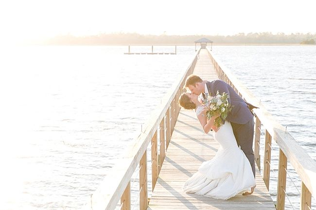 PPHG Events | Jenn & Tyler's waterfront wedding at The Lowndes Grove Plantation in Charleston, SC | Real wedding featured on The Wedding Row | Photo by Dana Cubbage Weddings