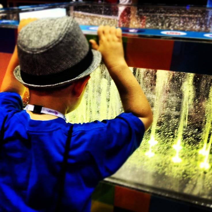 kids playground fountain