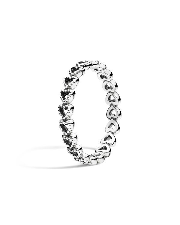 Pandora Ring - Sterling Silver Linked Love