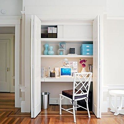 Placard - Coin bureau: Où se faire un coin bureau chez soi?