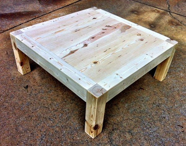 build your own coffee table ana white woodworking