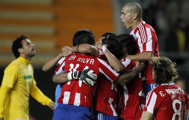 Paraguay durante la Copa America