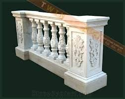 Enhance the beauty of your home with the beautiful balustrade natural stone...