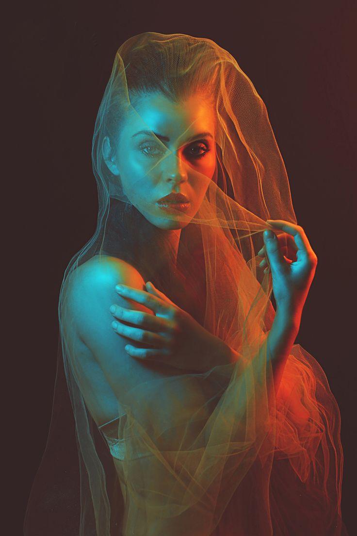 """""""Fire & Ice"""" — Photographer: Naomi Loghry – Loghry Photography Model: Anna Cash"""
