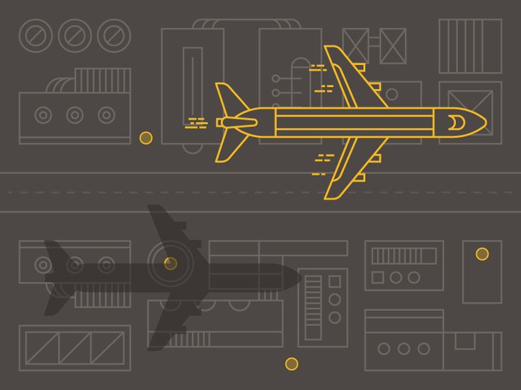 WIP Transportation Illustration by Jon McClure for MilesHerndon