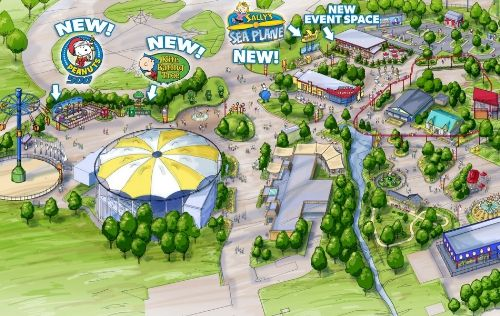 Kings Dominion to Expand Planet Snoopy and Offer Pre-K Pass in 2017