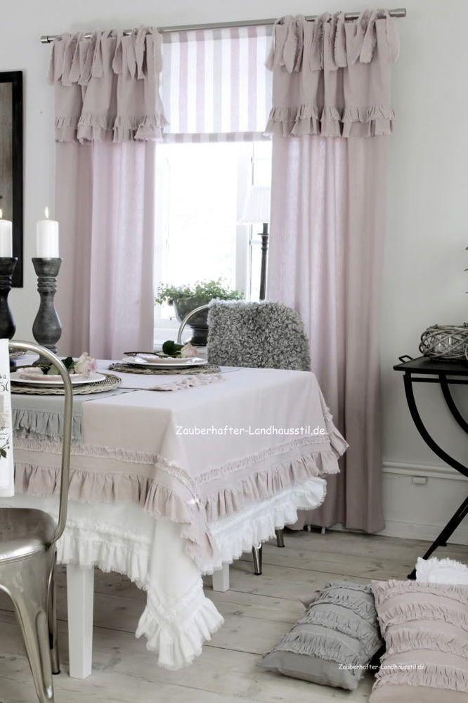 25+ parasta ideaa Pinterestissä Deko gardinen Deko vorhänge - küche gardinen landhausstil