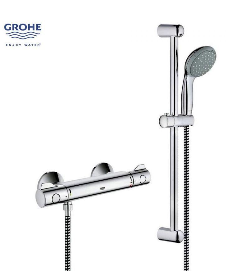 Grifo grohe grohtherm 800 termostato grifos de ducha for Grifos ducha termostaticos grohe precios