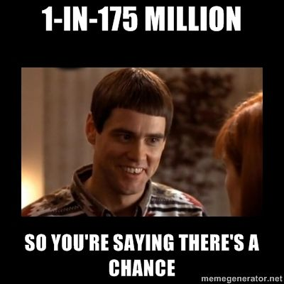 How I Feel With My One Powerball Ticket Fun Memes Funny Funny