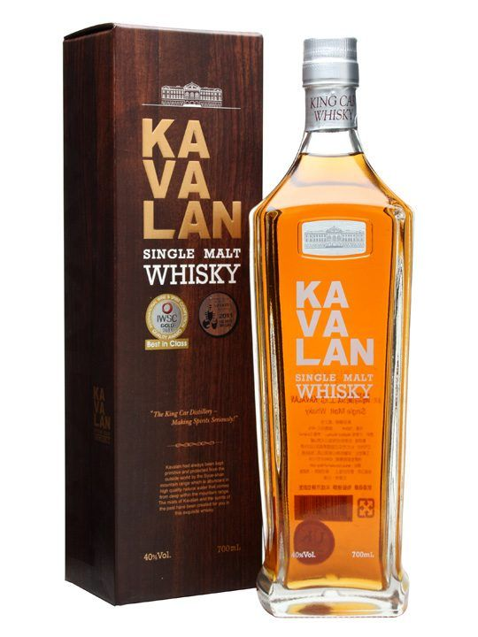 Kavalan Single Malt : Buy Online - The Whisky Exchange - The flagship single malt from Taiwan's Kavalan. Only operating since 2005 they have wowed the world with their young but full flavoured whisky, concentrating on their signature flavours of tropical...