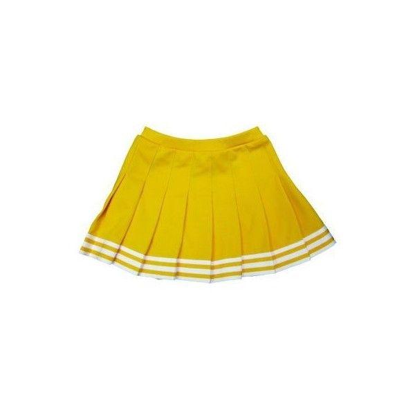 Amazon.com : Elastic Waist Knife Pleat Skirt (Kelly Green, Adult... ($20) ❤ liked on Polyvore featuring skirts, yellow skirt, sport skirts, stretch waist skirt, sports skirts and elastic waist skirt