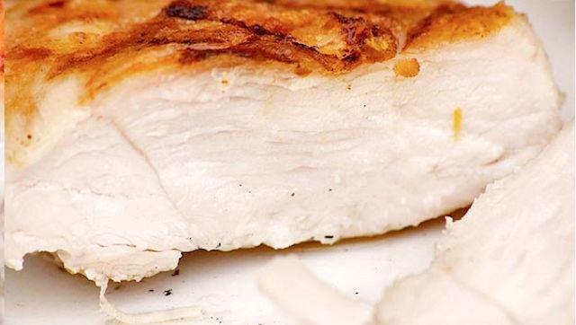 L'esperimento: un petto di pollo dall'ottima struttura