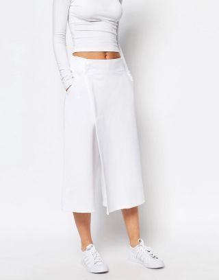 Fusta pantalon sport adidas alba