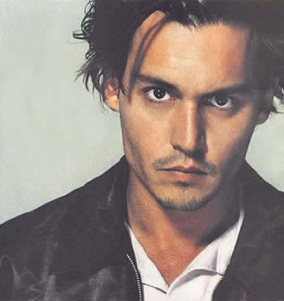 Johnny Depp, a work of art...any woman would love to have these cheekbones..
