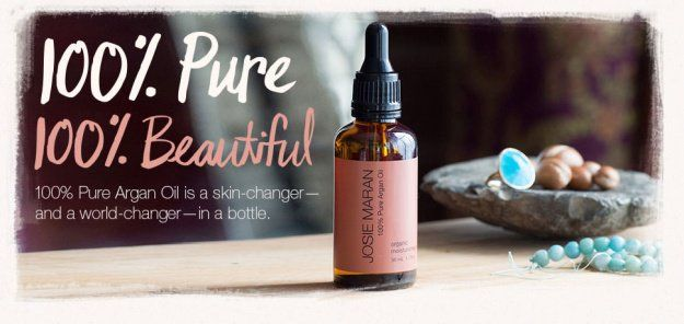 1. Josie Maran 100% Pure Argan Oil Light | 9 Products That Will SAVE Your Dry Skin This Winter