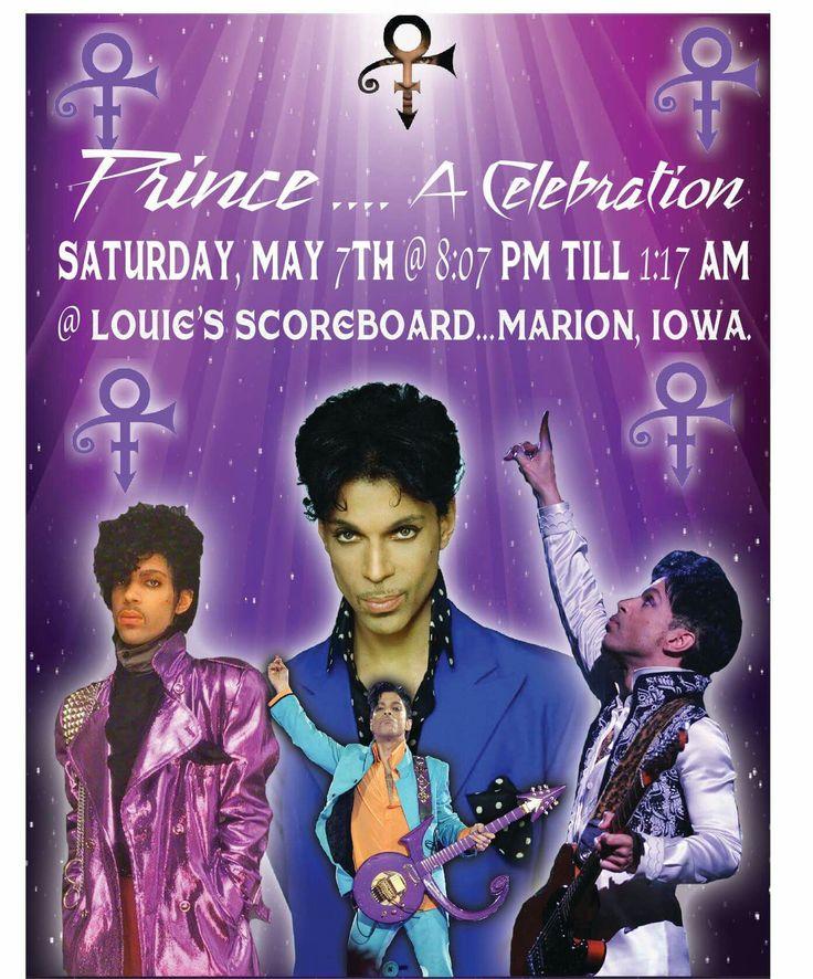 Prince celebration Marion, Iowa