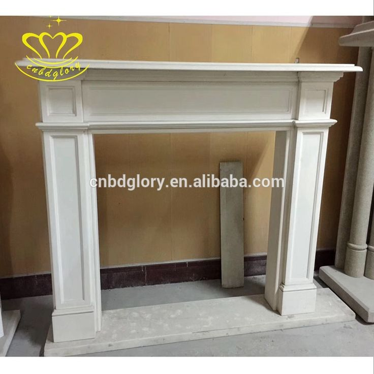 China suppliers New product white marble fireplace