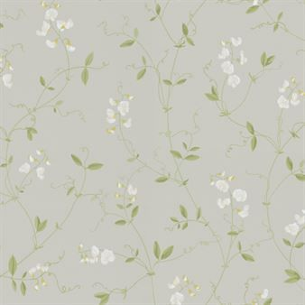 Sanna wallpaper - light green - Sandberg Tyg & Tapet $120 from here free shipping.