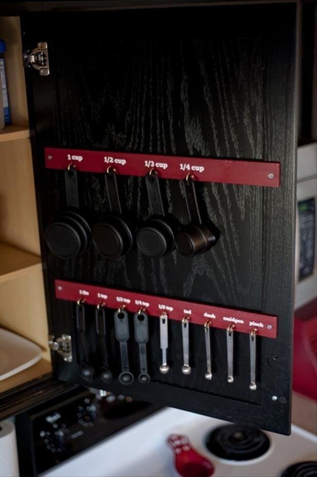 organize your kitchen, smart ideas