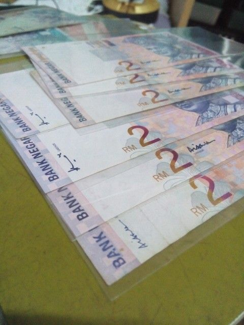 RM 2 2 RINGGIT #BANKNEGARAMALAYSIA