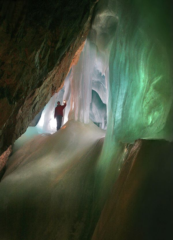 World's Largest Ice cave in Salzburg, Austria