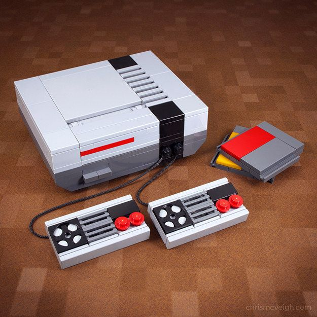 From old school gaming… | 21 Whimsical LEGO Creations By Chris McVeigh