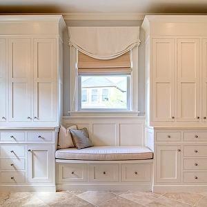 Bathroom Window Seat, Transitional, bathroom, Farinelli Construction