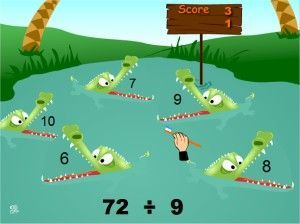 Some great online division games for 3-5th grade!