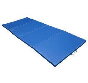 "Polar Aurora 4' X 8' X 2"" Pu Leather Folding Gymnastics Gym Tumbling Exercise Martial Arts Mat Pad"