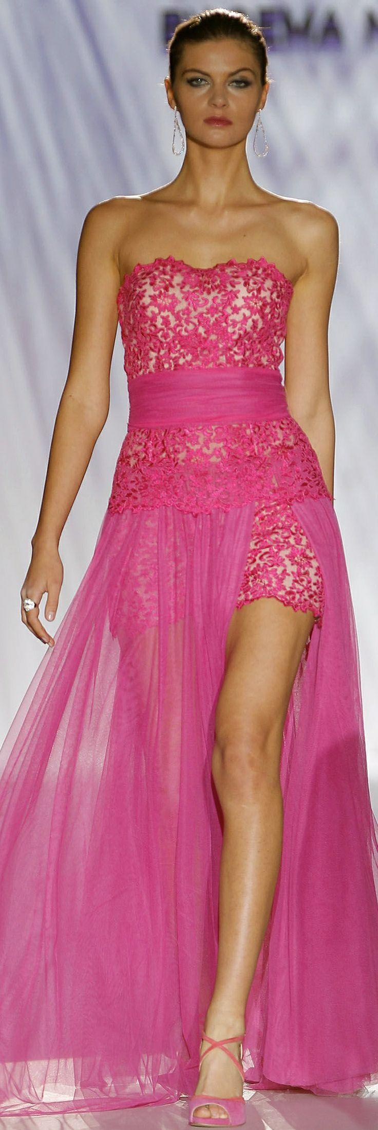 "Pinky Pleasures Joins Gema Nicolas AtvBarcelona's Bridal Week ~ ""Cabotine"""