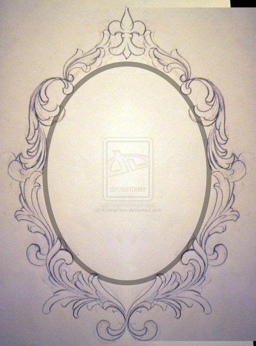 Ornate Oval Frame Drawing | tumblr_moqpxs5Yqa1s77wr7o1_500.jpg