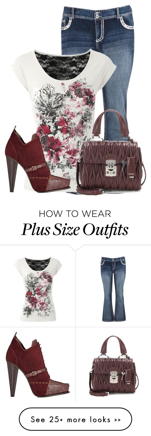 """""""Untitled #9458"""" by nanette-253 on Polyvore featuring мода, maurices, Jane Norman, Derek Lam и Miu Miu"""