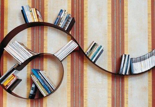 Półka na książki - BOOKWORM