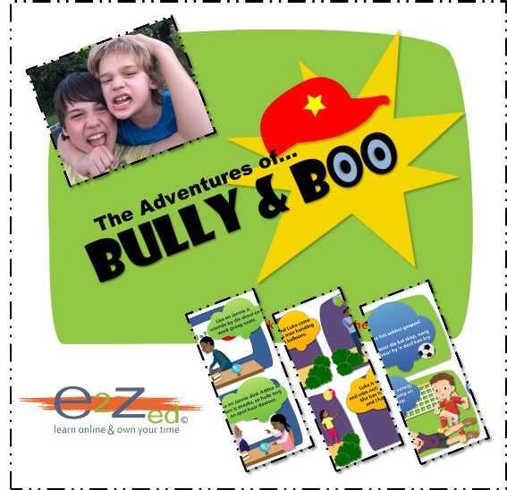 Interactive Comic Strips, Anti-Bullying Programme, Empathy prevents Bullying, Stop Bullies in School, Bullies, Teach Children about Bully Behaviour, Teaching Aids, Lessons about Bullying,