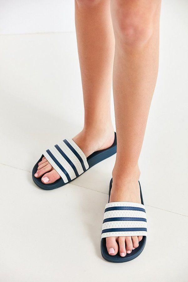 adidas Originals Adilette Slide | Sandales homme, Claquettes