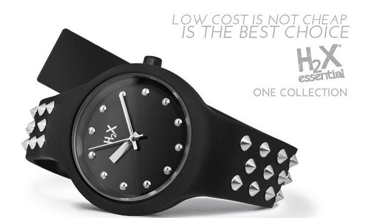 Low cost is not cheap... is the best choice! H2X watches: orologi made in Italy, belli, economici, in tante versioni fashion, anche con borchie e cristalli, e in oltre 50 colori tra cui scegliere.
