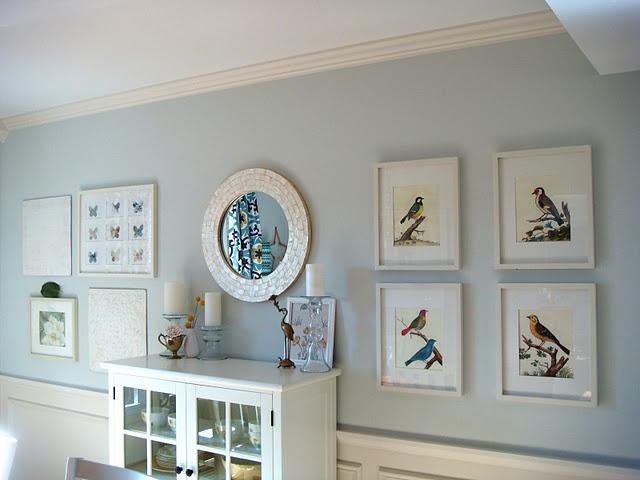 Benjamin Moore Moonshine Cavallini Bird Calendar