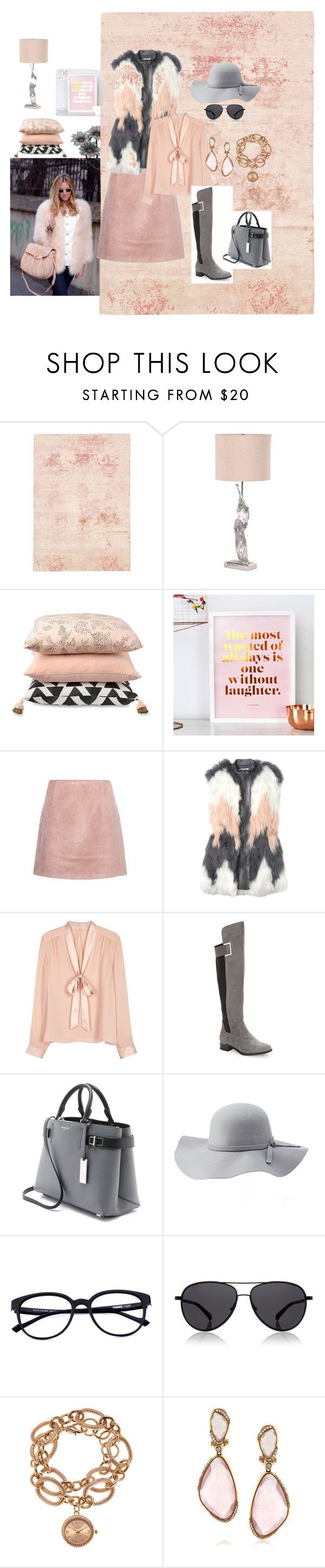 """""""Untitled #122"""" by sanela-o ❤ liked on Polyvore featuring Acne Studios, Rebecca Taylor, Alice + Olivia, Calvin Klein, Michael Kors, Charlotte Russe, The Row, Louis Arden and Mark Broumand"""