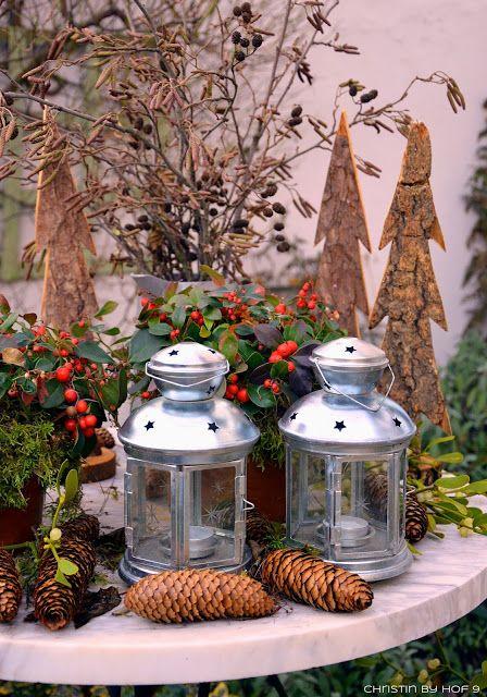 47 besten au endeko im winter bilder auf pinterest hof. Black Bedroom Furniture Sets. Home Design Ideas