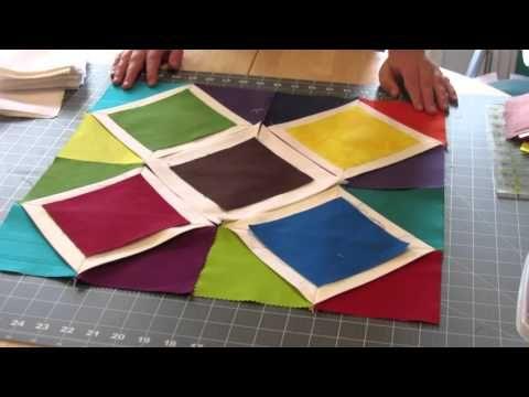 Quilting Dreams presenta: Regla Cathedral Windows - YouTube