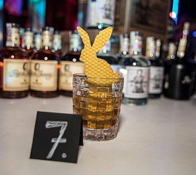 ave a sweet day! Have the Honey Bunny🍯🐰. (recipe below) - by @matuschudy (Ig) who was one of the semifinalists at the Ron de Jeremy Cocktail Challenge III in Czech Republic - 4cl Ron de Jeremy XO - 3cl Mead /honey liquor/ - 3 dashes Rhubarb Bitter - Garnish: Bunny made from Beeswax. . . . . . . . . . . . . . . . . . . . . . . . . . . . . . . . . . . . . . . . . . . . #rondejeremy #cocktails #bartenders #event #tasty #rum #rumwithatwist #theoriginaladultrum #ronjeremyrum