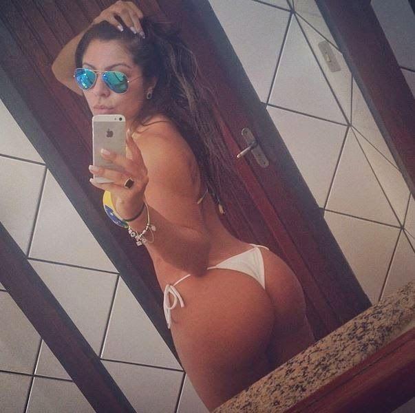 Informação e Diversão: Popozão! Andressa Ferreira, namorada de Thammy, em...